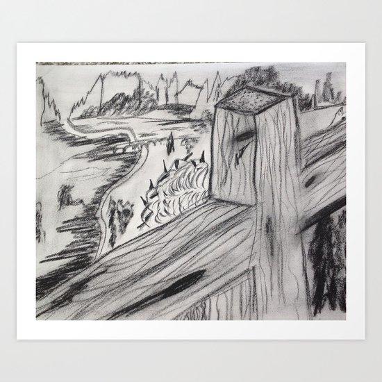 The Cross 2 Art Print