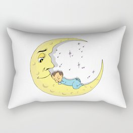 Baby Moon Rectangular Pillow