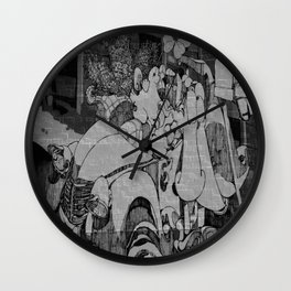voiture Wall Clock
