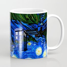 tardis srarry night Coffee Mug