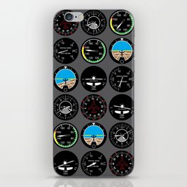 Flight Instruments iPhone Skin