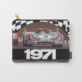 Vintage 1971 racing Poster Carry-All Pouch