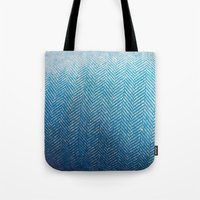 fabric Tote Bags featuring Fabric by Anna Berthier