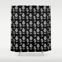 kendrick lamar Shower Curtains featuring Kendrick x Cole by GerritakaJey