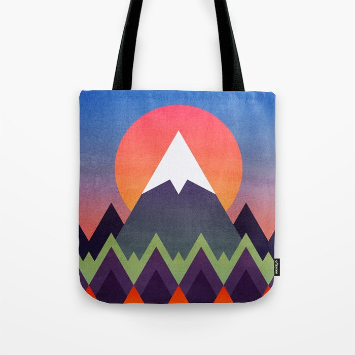 Camp / Sunset Version Tote Bag