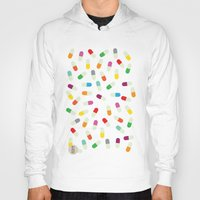 the cure Hoodies featuring Pill cure by  R U A L E G R E