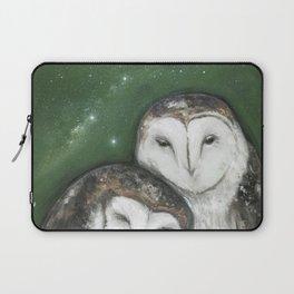 Soul Mates (Barn Owls) Laptop Sleeve