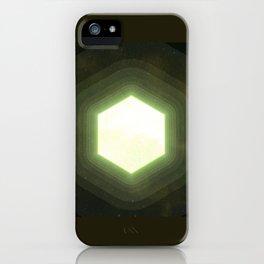 Earth II Hexahedron iPhone Case