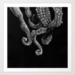 Tentacle III Art Print