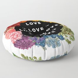 Love is Love Floor Pillow