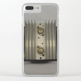 1960's Dukane 110 Watt Power Supply Transformer Clear iPhone Case