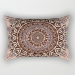 Mandala romantic pink Rectangular Pillow