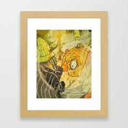 Citrus Greening Framed Art Print