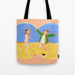 Tribute to Moonrise Kingdom Tote Bag