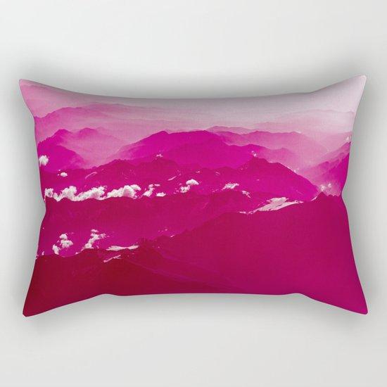 Abstract mountains Rectangular Pillow