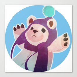 Frostfire Tibbers Canvas Print