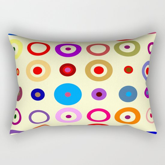 Op Art #7 Rectangular Pillow