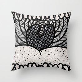 Say AHHH Throw Pillow