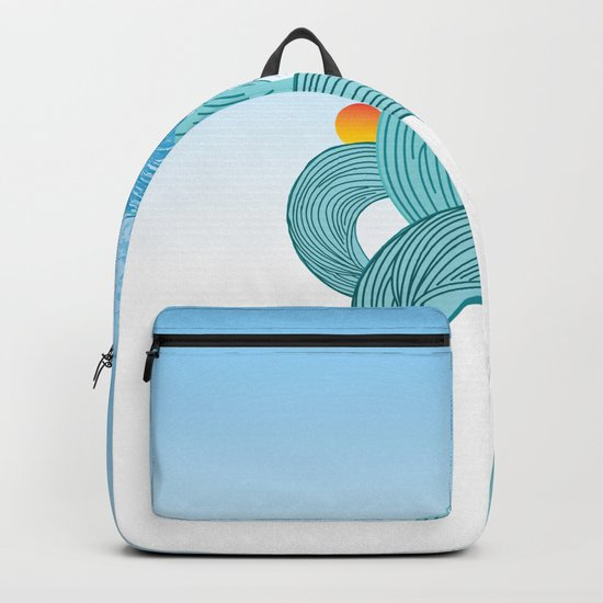 surfing 4 Backpack