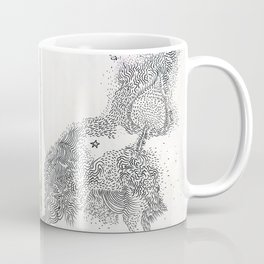 diary // milky way Coffee Mug