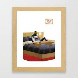 Habits / Smack Framed Art Print