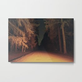 Serial Killer on his Way Home Metal Print