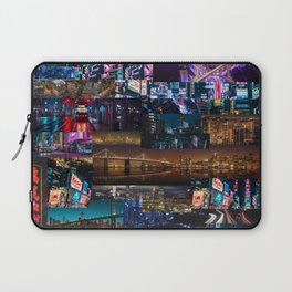 Cities of the world at night Laptop Sleeve