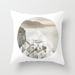 Geometric Bridge Throw Pillow