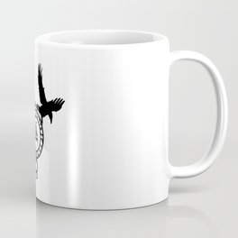 Raven - Triple Horn of Odin Coffee Mug
