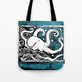 Shiny Metal Thing Octopus Tote Bag
