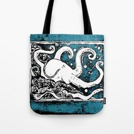Shiny Metal Thing Octopus Tote Bag