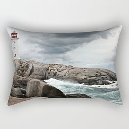 Peggy's Cove Light House -- Nova Scotia Rectangular Pillow