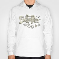 europe Hoodies featuring Europe Text by Dues Creatius