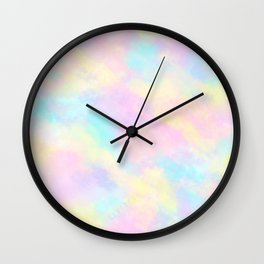 Candyfloss Dream Wall Clock