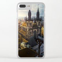 Classic Prague Clear iPhone Case