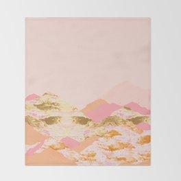 Graphic Mountains S Throw Blanket