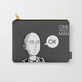 One Punch Man Saitama Carry-All Pouch