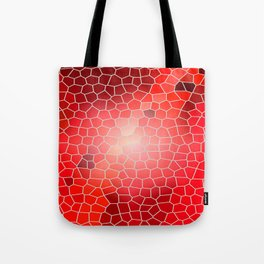 Colorful Red Windows Tote Bag