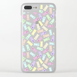 Pastel Gummi Bears Clear iPhone Case