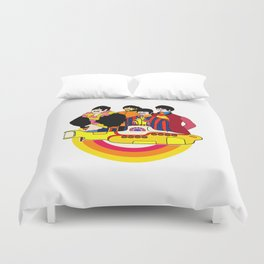 Yellow Submarine - Pop Art Duvet Cover