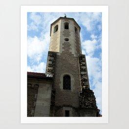 Tower of the Brunswick Cathedra Art Print