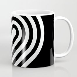 Stripey pill shape Coffee Mug