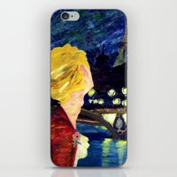 les mis iPhone & iPod Skins featuring Enjolras in Paris les mis by Pruoviare
