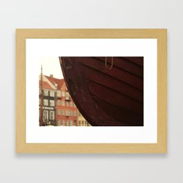 ship city Framed Art Print