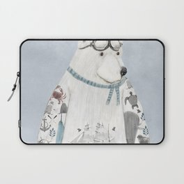the arctic explorer Laptop Sleeve