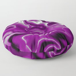 Asexual Pride Abstract Swirled Spilled Paint Floor Pillow