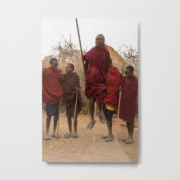 Maasai II Metal Print