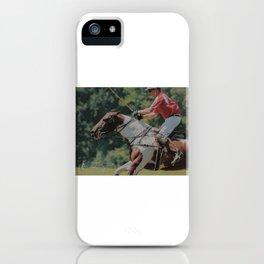 Pinto Polo Pony iPhone Case