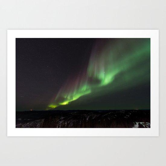 Aurora VII Art Print