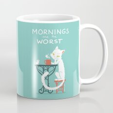 Mornings are the worst Coffee Mug